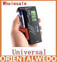 Wholesale UniversalScales Handheld Battery Volt Tester for V AA AAA CD Cell V Batteries