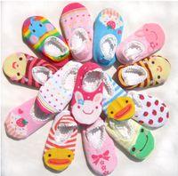 Wholesale babies socks Unisex Baby Kids Toddler Girl Boy Anti Slip Socks Shoes Slipper pairs