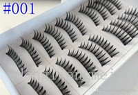 Wholesale Set Pairs Set Natural OR Thick Fake False Eyelashes Eye Lash style mixed Z20