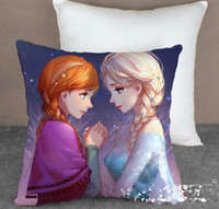 Frozen Princess Elsa Anna Fashion Pillow Case 40*40CM Cartoo...