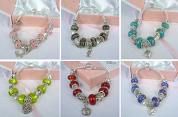 wholesale 20strings charms Bracelet jewelry,Charms Beads Strings with free box