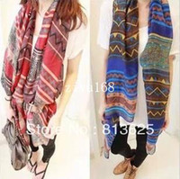 Wholesale 2014 Newest Beach Shawl Beach Sarong Aztec Scarf Fashion Polyester Aztec Tribal Scarf
