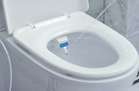 Wholesale 2014 Luxurious And Hygienic Eco friendly Easy To Install High tech Toilet Seat Bidet Y8005B