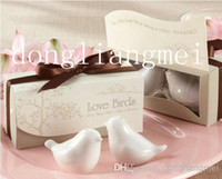 Wholesale pc pair Love Bird Salt amp Pepper Shakers Wedding Favor Gift Z31
