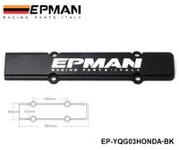 acura integra exhaust - EPMAN Engine Spark Plug Cover Black for Honda Acura Civic Integra DC2 B18 B16 B20 EP YQG03HONDA BK Have in stock