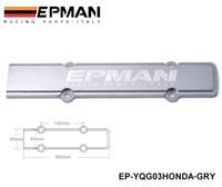 acura vtec - EPMAN ENGINE SPARK PLUG WIRE COVER GREY FOR HONDA ACURA DOHC VTEC B SERIES B16 B18 EP YQG03HONDA GRY