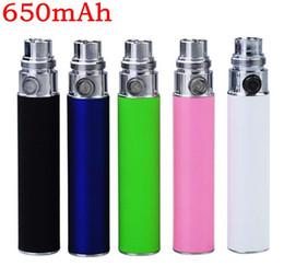 Wholesale - Ego Cigarettes Battery 650mah 900mah 1100mah Batteries 9 Colors for CE4 Kits CE5 kit EGO-c EGO T EGO W e Cigarettes DHL free shi