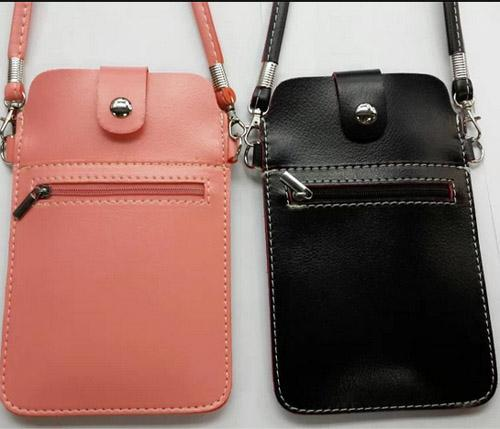 Buy Zip Lady Cell Mobile Phone PU Leather Pouch shoulder Bag Case strap iPhone 4 5 samsung S3 S4 HTC