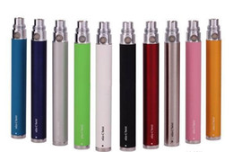 Wholesale - Ego Twist Battery Electronic Cigarette adjustable variable voltage battery 3.2-4.8v E cigarette ego-c twist battery for EGO-T C