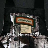 Wholesale and New Arrival Remington Winter Outdoor Clothing Hunting Suit L XL XXL Snow Bibs amp Parka for Men