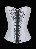 Women Corset & Bustier Christmas Hot Restore Ancient Sexy Underwear Green Satin Full Sreel Boned Corset & Bustier Blooming Hook Eye Back And Trimming + Thong