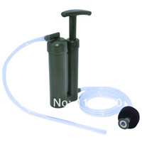 Wholesale Soldier Water Filter for Hiking Camping Fishing Hunting Climbing