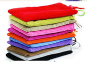 Wholesale 20pcs high quality cell phone sock for phone4 itouch mobile phone cases cloth