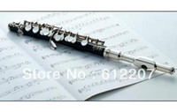 Wholesale 4 exquisite musical instrument silver plated piccolo compound woodwind clarinet mouthpiece flute
