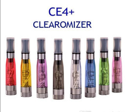 Wholesale - Rebuildable CE4+ Atomizer Vaporizer 1.6ML 2.4ohm CE4+ Clearomizer atomizer e cigarettes Electronic Cigarette ce4+ plus for ego