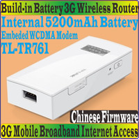 Wireless batteries modems - Chinese Firmware TL TR761 Mobile Power Wireless Travel G Modem Router for WCDMA HSPA Network WIFI bgn Battery Powered TL TR761