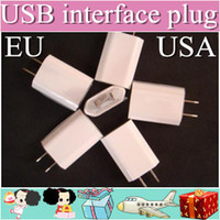 8thdays For Apple iPhone other 100XX AC Power Adapter US Plug USB Wall Travel Charger US EU Adapter for iphone 4 5 5S for Samsung Galaxy Cellphones Multi-color AAAAA