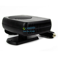 Wholesale Black ABS XW703 W V DC Vehicle Car Portable Ceramic Heating Cooling Heater Fan Defroster Demister TK1158