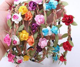 Wholesale - Bride Flower Headband Festival Wedding Jewelry Garland Hair Band Headwear Hair Accessories for Women