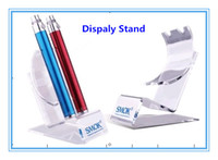 Electronic Cigarette display stand E cigarette display stand E Cigarette Display Stand For Ego Battery EVOD MOD King Nemesis Chiyou Maraxus Acrylic Material E-Cigarette Exhibition Shelf
