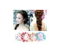 Wholesale Sample order Fashion the sky star pearls bride dish hair products The bride headdress