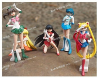 Wholesale sailor moon sailor mercurry sailor mars japanese anime sex figure doll toy new year gift toys for children boys cm