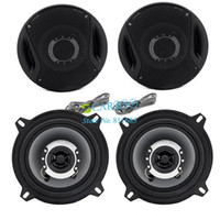 Wholesale 2013 New Watts High quality quot way Two Coaxial Car Stereo Audio Speakers Speaker Black TK0692