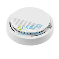 Wholesale Security Photoelectric Cordless Smoke Detector Fire Alarm