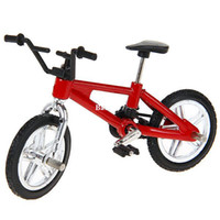Wholesale Finger Toy Bike of New Style for Children Red and Black
