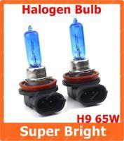 Headlights 12V External Lights 2 X H9 Super White 65W Car Fog Lamp Halogen Xenon Light Bulbs 12V Lamp Light Bulbs 6000~6500K Free Shipping AAA