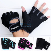 Wholesale Gym Body Building Training Fitness Gloves Sports Weight Lifting Exercise Slip Resistant Gloves For Men And Women