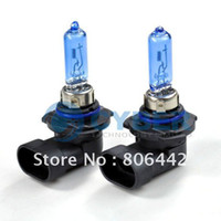 Wholesale 2 X HB3 Super White W Auto Car Halogen Xenon Fog Light Bulbs V Lamp Bulbs K