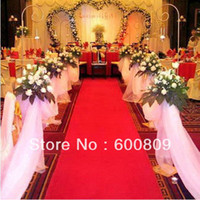 2016 NEW CHINESE RED beautiful aisle carpet  aisle runner fo...