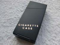 Wholesale Fedex Travel Magnetic Aluminum Cigar Cigarette Case lighter box case mix colors for Man Woman