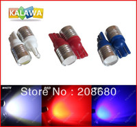 Wholesale 10pcs T10 W High Power Condenser lens Car LED width lamp with lens auto show wide lamp license plate ligh FREESHIPPING GGG