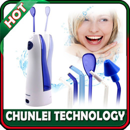 Wholesale 160ml Cordless Rechargeable Dental Care Oral Irrigator Ultra Water Jet Flosser with Charger Tips