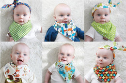 Wholesale 2014 New Fashion Cotton Double layer Triangle Baby Saliva Towel Bibs Double Sided Available Soft Infant Bibs KSJ
