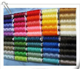 Wholesale sewing thread sewing machine parts polyester thread color