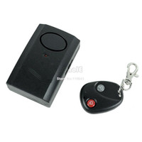 Wholesale High Quality Black Wireless Remote Control Vibration Alarm for Door Window