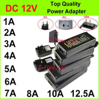 Wholesale AC V To DC V A A A A A A A A A A Power Supply Adapter For Led Strip DHL High Quality