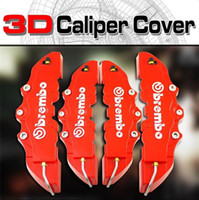 Wholesale 4pcs set Red ABS D Front Rear Car Auto Disc Brake Caliper Cover With Brembo Universal Kit
