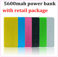 Direct Chargers   Universal 5600mAh Fragrance Perfume Emergency External Backup Battery Pack Charger Power Bank for Mobile Phone Iphone Samsung Sony LG 100pcs