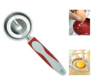 Wholesale Egg White Filter Egg Yolk Separator Colander Divider DIY Spoon Kitchen Cookware