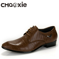 Wholesale Amazing prices Men dress shoes cusp lace up dress shoes elastic wearable rubber heel perfect work Eu38 fast