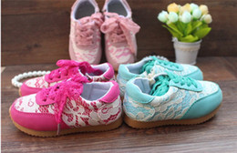 Wholesale 2014 fresh lady lace baby shoes yards kids side zipper soft soled shoes Cheap cotton shoes Toddler shoes baby wear pairs LY