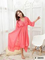Wholesale dresses- Ms. Chun xia, thin ice silk condole belt ...