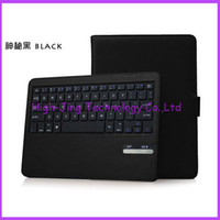 Wholesale High quality Biuetoot wireless Case for iPad Air Leather Wireless Bluetooth Keyboard Multi Color with Retail Box for sale