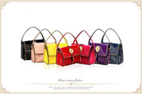 Wholesale Korean version of the new fashion leisure wild oranges everyday handbags PU leather handbag shoulder bag colors