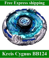 Wholesale 2014 new Beyblade Metal Fusion Fight masters D System BB124 Kreis Cygnus WD NEW kids toys