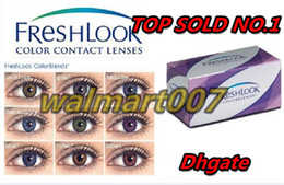 Wholesale HOT SOLD MOQ piece pair freshlook contact lens colors Contact Lenses make your eyes more Beautiful Your best choice Top quality